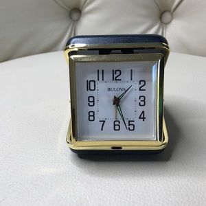 Bulova Travel Alarm Clock